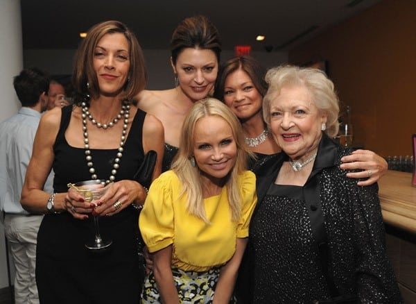 Wendie Malick, Jane Leeves, Kristin Chenoweth, Valerie Bertinelli & Betty White