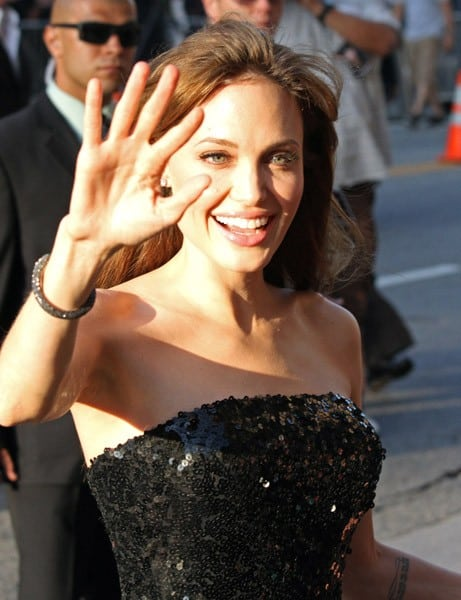 Angelina Jolie is seen on July 19, 2010 in Los Angeles, California.