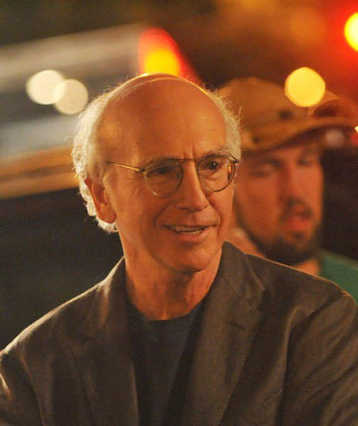 Larry David on Location for 'Curb Your Enthusiasm' in New York City