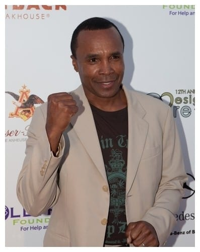 Sugar Ray Leonard Attends the 12th Annual HollyRod Foundation Design Care Event in Beverly Hills on July 24, 2010