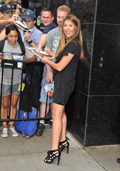 Nina Garcia Spotted As Project Runway Returns to New York City