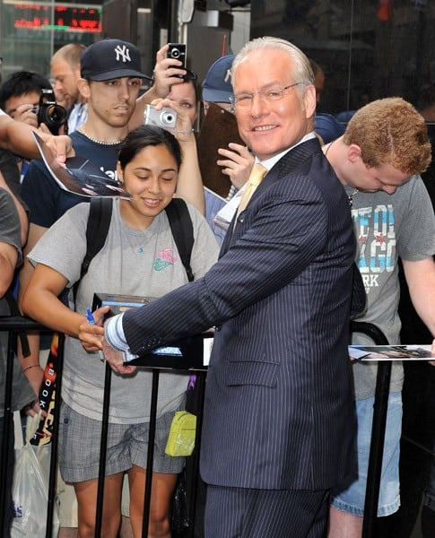 Tim Gunn Spotted As Project Runway Returns to New York City