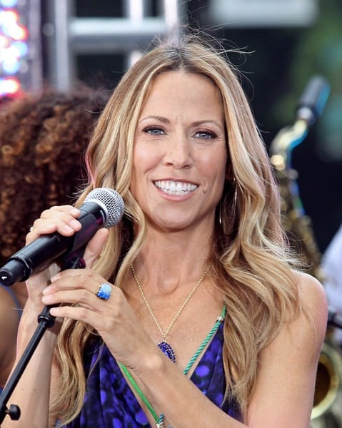 Sheryl Crow performs for CBS's 'The Early Show' in New York City on July 23