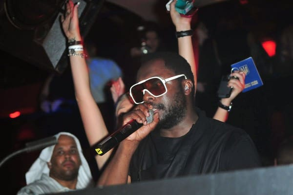 Will.i.am spins at Pacha on July 30, 2010 in New York City.