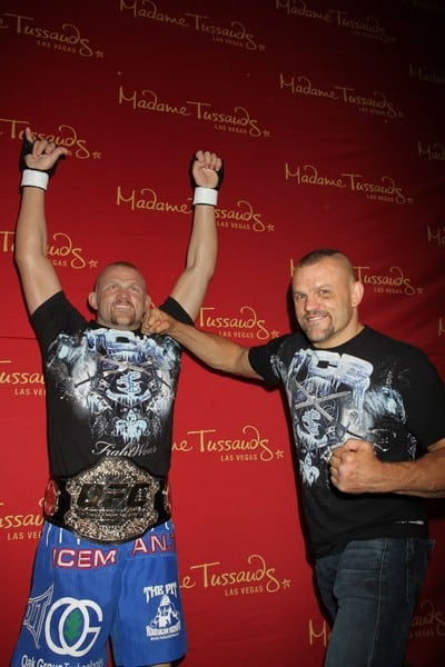Chuck Liddell Unveils His Wax Figure at Madame Tussauds