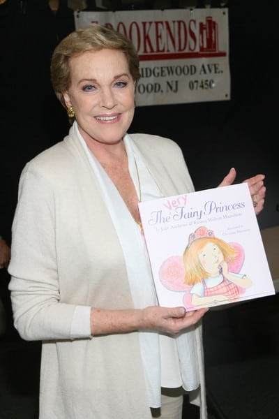Julie Andrews Signing Her Book 'A Very Fairy Princess'