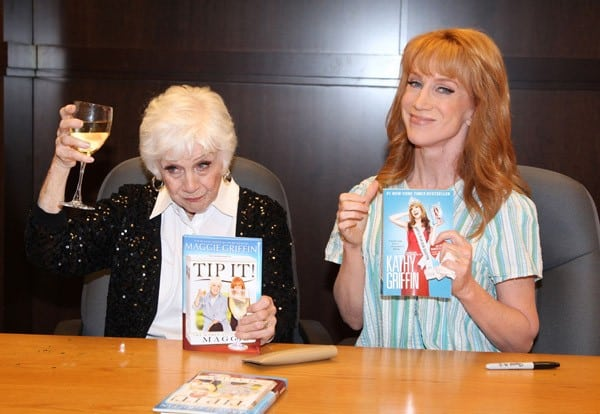 Maggie Griffin & Kathy Griffin Sign Their Books at Barnes & Noble