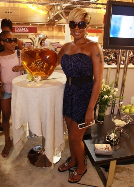Mary J. Blige Launches Her 'My Life' Fragrance