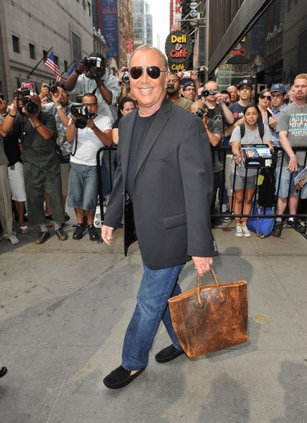 Michael Kors Spotted at His Appearance on Good Morning America