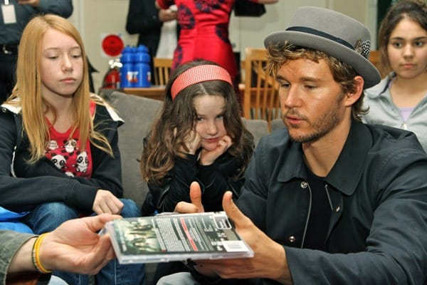 Ryan Kwanten Visits Children at Ronald McDonald House in Sydney, Australia