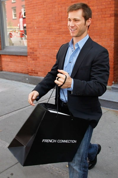 Jake Pavelka of 'The Bachelor' visits the French Connection store in Soho on August 3, 2010 in New York City.