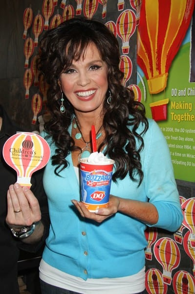 "Marie Osmond at Dairy Queen for ""Miracle Treat Day"" Benefitting Children's Miracle Network Hospitals in Las Vegas on August 5, 2010"