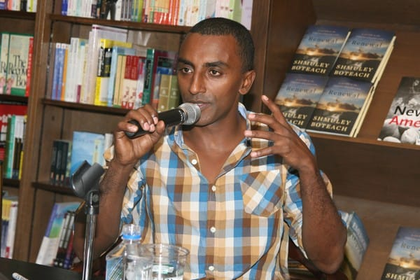 Marcus Samuelsson's Book Signing of 'New American Table' at Barnes & Noble in New York City on August 3, 2010