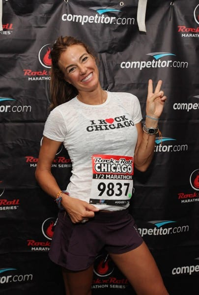 """Kelly Killoren Bensimon of """"Real Housewives of NYC"""" attends the Rock 'n' Roll Half Marathon on August 1, 2010 in Chicago, Illinois."""