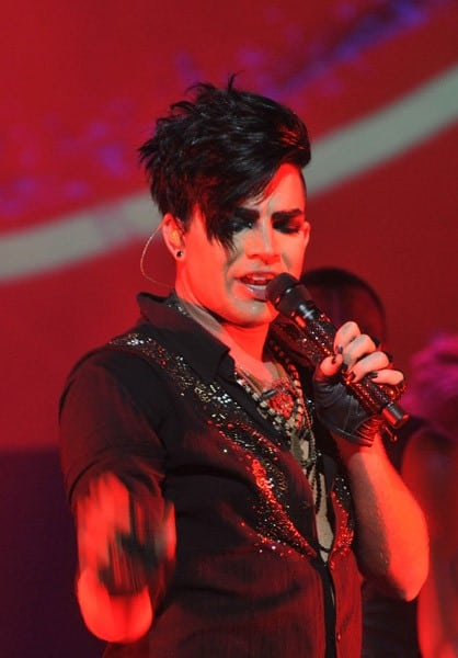 Adam Lambert performs at the St. George Theatre on August 24, 2010 in New York City.