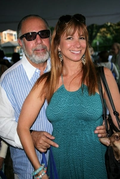 Jill Zarin and Bobby Zarin attend the 6th Annual Authors Night at The East Hampton Library on August 14, 2010