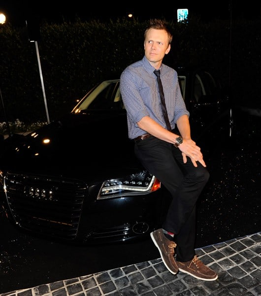 Joel McHale attends Audi Celebrates the 2010 Emmy Awards at Cecconi's Restaurant on August 22, 2010 in Los Angeles, California.
