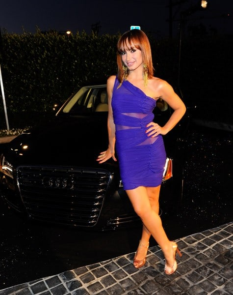 Karina Smirnoff attends Audi Celebrates the 2010 Emmy Awards at Cecconi's Restaurant on August 22, 2010 in Los Angeles, California.