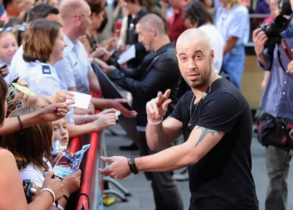 Daughtry performs on NBC's 'Today' at Rockefeller Center on August 20, 2010 in New York City.