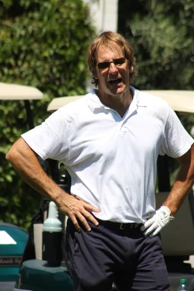 Scott Bakula Attends The SAG Foundation Inaugural Golf Classic at Lakeside Golf Club in Burbank on August 16, 2010