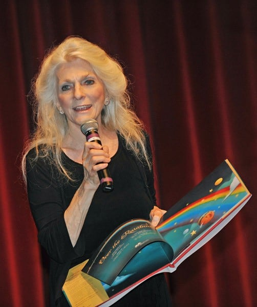 Judy Collins promotes her book 'Over The Rainbow' at Raritan Valley Community College on August 16, 2010 in Branchburg, New Jersey.