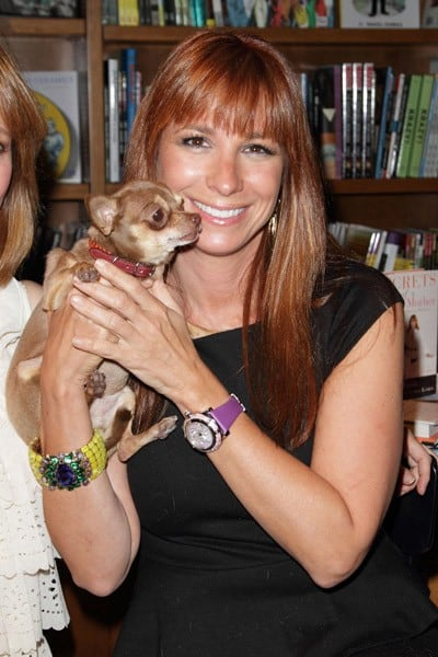 Jill Zarin greets fans and signs copies of her book 'Secrets of a Jewish Mother' at Books and Books on August 20, 2010 in Coral Gables, Florida.