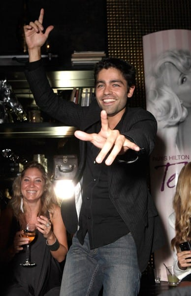 "Adrian Grenier attends Paris Hilton's ""Tease"" Fragrance Launch at MyStudio on August 10, 2010 in Hollywood, California."