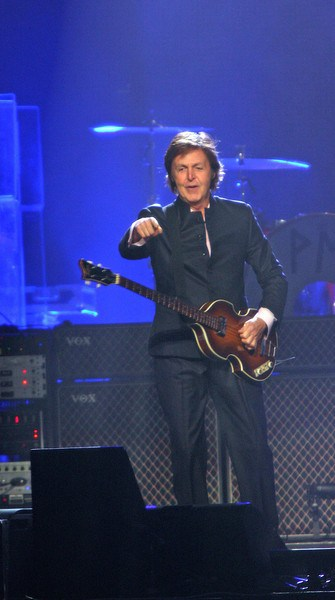 Paul McCartney In Concert At The Wachovia Center Philadelphia On August 15 2010