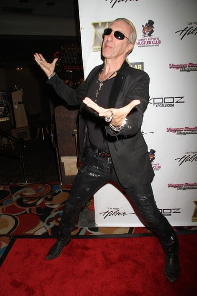Dee Snider Attends the Vegas Rocks! Magazine Awards at the Las Vegas Hilton in Las Vegas, Nevada on August 22, 2010.