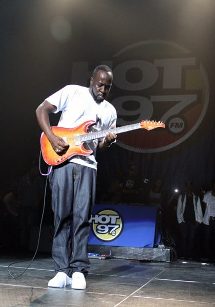 Wyclef Jean performs for Hot 97 On Da Reggae Tip Concert at Hammerstein Ballroom on September 3, 2010 in New York City.