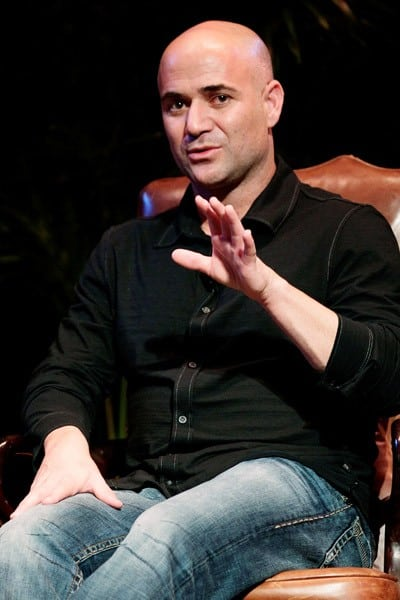 Tennis player Andre Agassi attends a Special Evening with Andre Agassi at Town Hall on September 2, 2010 in New York City.
