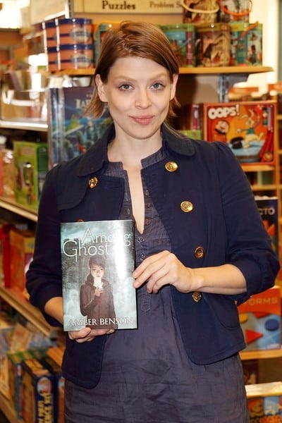 Amber Benson's 'Among Ghosts' Book Signing at Barnes and Noble in Encino on September 12, 2010