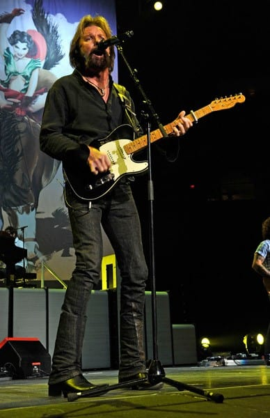 Ronnie Dunn performs at Bridgestone Arena on September 2, 2010 in Nashville, Tennessee.