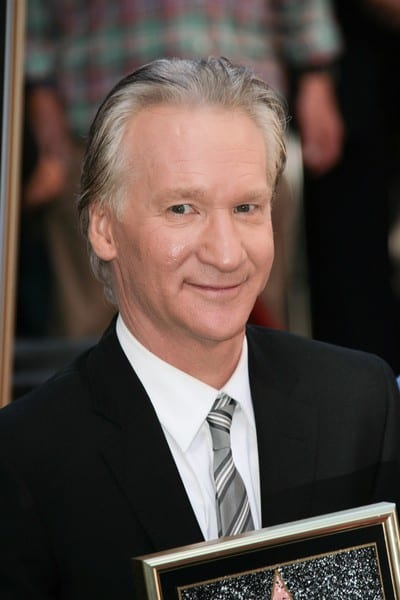 Bill Maher is honored with a star on the Hollywood Walk of Fame on September 14, 2010 in Hollywood, California.