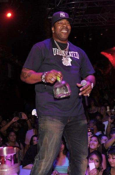 Busta Rhymes performs at Haze Nightclub on September 5, 2010 in Las Vegas, Nevada.