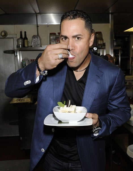 New York Mets' Carlos Beltran attends his own partnership party at Sofrito on September 12, 2010 in New York City.