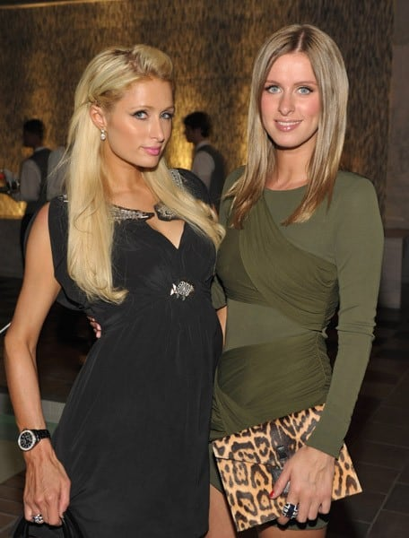 Paris Hilton and Nicky Hilton attend ARCADE Boutique's 'The Autumn Party' benefiting Children's Institute, Inc at The London West Hollywood Hotel on September 29, 2010 in West Hollywood, California.