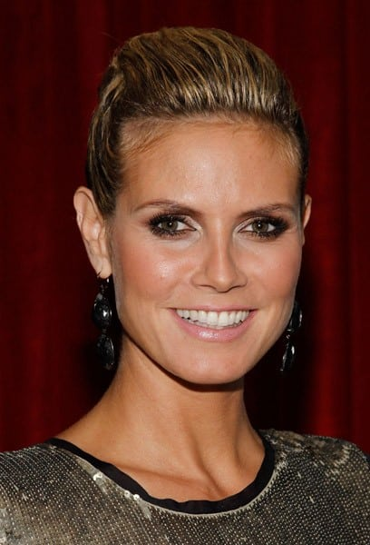 Model Heidi Klum attends the CITY Magazine September Issue celebration at The Lambs Club on September 8, 2010 in New York City.
