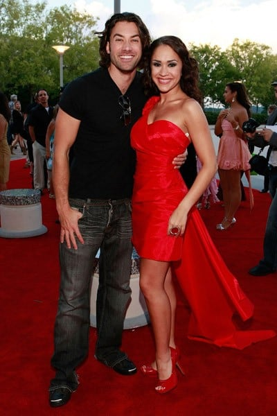Former 'American Idol' finalists Ace Young and Diana DeGarmo attend the 32 Annual Georgia Music Hall Of Fame Awards at the Cobb Energy Center on September 11, 2010 in Atlanta, Georgia.
