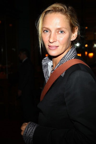 Actress Uma Thurman attends the premiere of 'Jack Goes Boating' at the NY Yacht Club on September 16, 2010 in New York City.