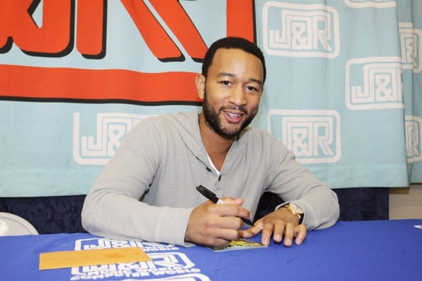 John Legend promotes 'Wake Up!' at J&R Music & Computer World on September 24, 2010 in New York City.