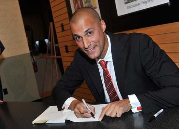 Photographer Nigel Barker promotes 'Nigel Barker's Beauty Equation: Revealing a Better and More Beautiful You' at Barnes & Noble, Lincoln Triangle on September 13, 2010 in New York City.