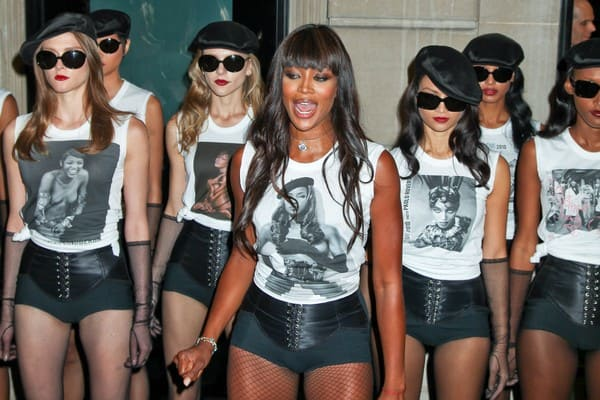 Naomi Campbell at the Dolce & Gabbana Celebration of the 25th Anniversary of Naomi Campbell's Career
