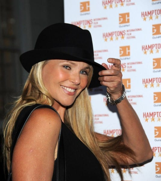 Christie Brinkley attends the 'Last Play At Shea' Screening for the Hamptons International Film Festival at Guild Hall on September 4, 2010 in East Hampton, New York.