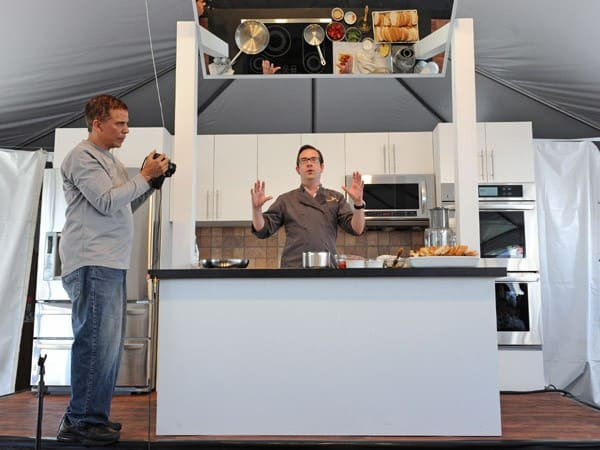 Celebrity Chef Ted Allen attends the Taste Of Beverly Hills Wine & Food Festival on September 4, 2010 in Beverly Hills, California.