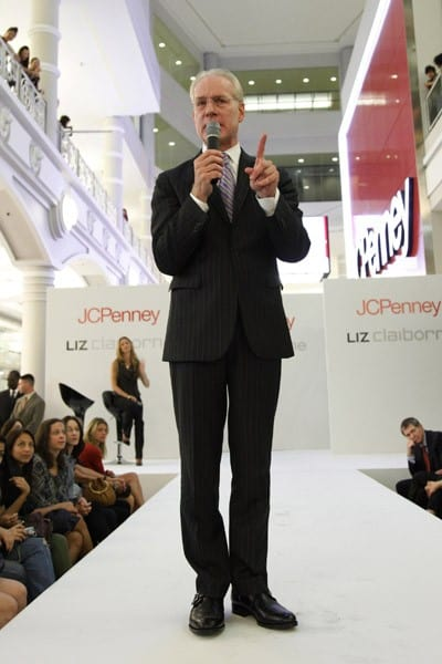 Tim Gunn, co-host of 'Project Runway' and Chief Creative Officer of Liz Claiborne Inc., unveils JCPenney's Liz Claiborne Exclusive Collection at JCPenney on September 23, 2010 in New York City.