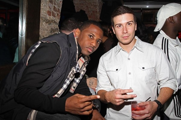 Vinny Guadagnino and Fabolous attend Adrienne Bailon's 27th birthday party at SL on October 27, 2010 in New York City.