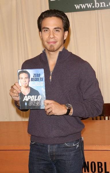 Apolo Ohno promotes 'Zero Regrets' at Barnes & Noble, 5th Avenue on October 28, 2010 in New York City.