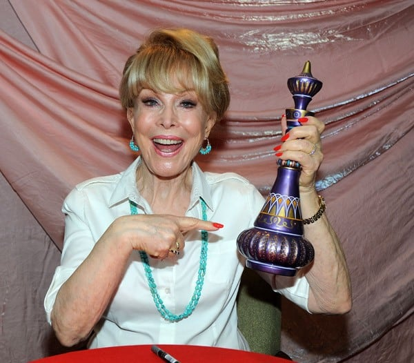 Barbara Eden attends Day 1 of the 2010 Chiller Theatre Expo at The Hilton on October 29, 2010 in Parsippany, New Jersey.