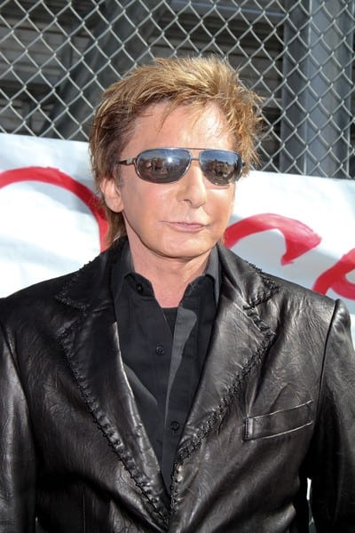 Barry Manilow speaks at his Manilow Music Project donation ceremony at Valley High School on October 7, 2010 in Las Vegas, Nevada.